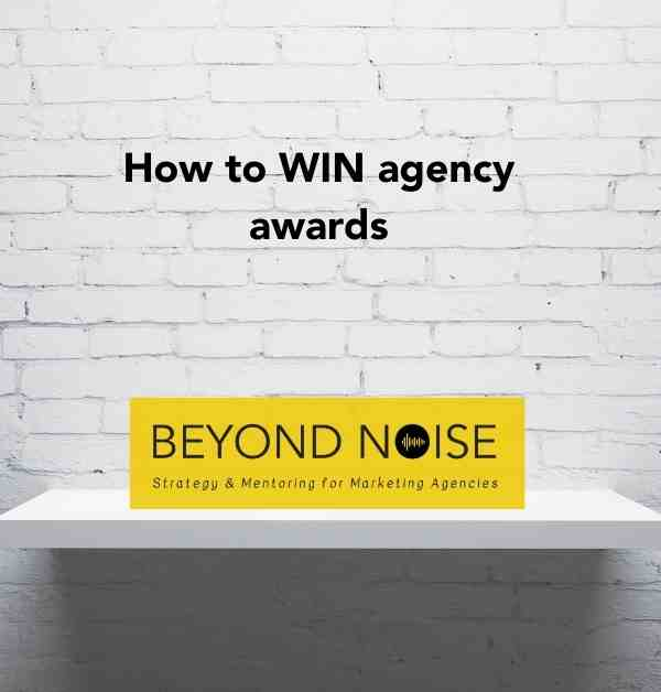 How to win agency awards with a logo on a shelf