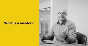 Gareth Healey asks what is a mentor?