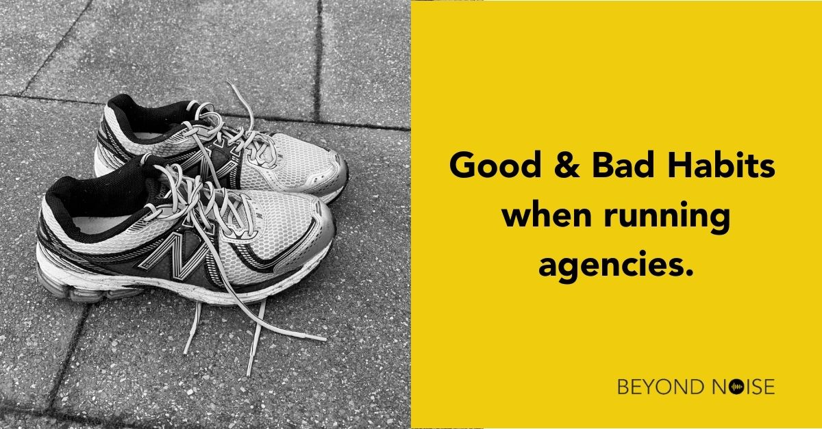 Agency coach Gareth Healey uses his experience running agencies to good effect with his agency coaching