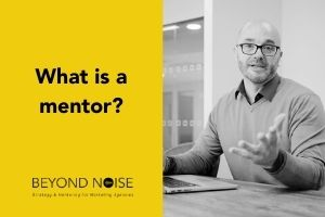 What is a mentor blog post featured image